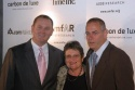 Kevin Frost (Interim CEO, amfAR) with Barbara Starrett and David Barr