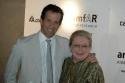 Designer Kenneth Cole (amfAR Chairman) and Dr. Mathilde Krim (amfAR Founder) Photo