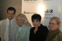 Kenneth Cole, Liz Smith, Liza Minnelli and Mathilde Krim Photo