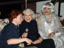 Ken Kleiber, Carol Channing and Richard Skipper Photo