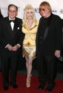 Hal David, Dolly Parton and Michael Masser