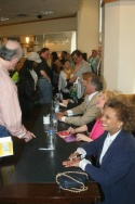"""Leslie Uggams, Julie Budd and """"Let's Put on a Show"""" participants sign CDs Photo"""
