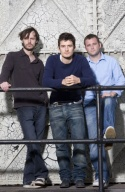 Paul Hilton, Orlando Bloom and Gareth Farr Photo