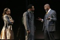 Michelle Beck, Kenajuan Bentley and Robert Jason Jackson as Polonius