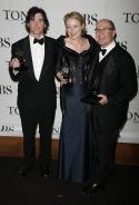 Billy Crudup (Best Featured in a Play), Jennifer Ehle (Best Featured in a Play) with  Photo
