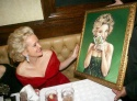 Christine Ebersole presented portrait by Dan May