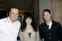 Brad Blanks, Bebe Neuwirth and Ashley Parker Angel