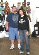 Cole Porter and Angela Ai Photo