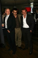 The men from Rabbit: Hilton McRae, Alan Westaway and Adam James