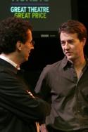Tony Kushner and Edward Norton Photo
