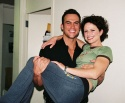 Cheyenne Jackson (Superman) and Jean Louisa Kelly (Lois Lane)
