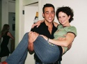 Cheyenne Jackson and Jean Louisa Kelly
