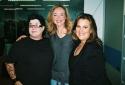 Lea Delaria, Rachel Jones (Miss Metropolis/Narrator) and Amy Ryder (Mayor)