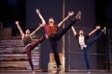 The Sharks dance the Prologue - Joey Calveri as Pepe, Freddy Ramirez as Bernardo and Manuel Santos as Indio