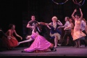 Jacqueline Colmer as Anita, Freddy Ramirez and cast - The Dance at the Gym