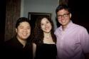 Wilson Chin, Christie Evangelisto and Roberto Aguirre-Sacasa
