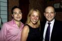 Patrick Catullo, Sharon Fallon and Isaac Robert Hurwitz Photo