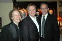 Creator, writer and host Scott Siegel, director Dan Foster and musical director Ross Patterson