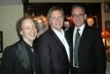 Creator, writer and host Scott Siegel, director Dan Foster and musical director Ross Patterson