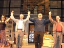 Polly Draper, Allan Miller, Adam Arkin and Arye Gross take their