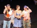 A bickering couple (Donovan Patton and Blythe Gruda) get marriage counseling from two MTA Flagmen (Thom Sesma and Lawrence Feeney) in a musical written by Stephen O'Rourke, music and lyrics by Brandon Patton, Direction by David Brind, and Choreography by