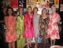 Laura Zeckendorf, Mercedes Ellington, Janice Becker, Anka Palitz, Ann Van Ness and Patricia Kennedy