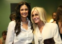 "Lynda Carter and Joan Van Ark (whose role on ""Knots Landing"" was because of a ""Wonder Woman"" appearance)"