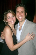 Producer Eric Falkenstein and fiancee