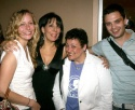 Christy Pusz, Christine Pedi, Barbara Rosenblat and Sebastian Stan