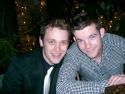 Michael Arden and Russell Tovey (The History Boys) / London