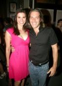 """David Cornue and wife - """"Law & Order"""" star Melina Govich"""