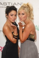 """""""High School Musical"""" stars Vanessa Hudgens and Ashley Tisdale"""
