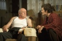 Tim Healy and Orlando Bloom