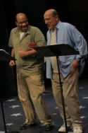 Don Mayo (as Newark) and Thom Christopher (as Johnny Dembo)