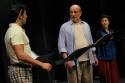 Nicholas Rodriguez (Steve), Thom Christopher (Johnny Dembo) and Angel Desai (Emily)