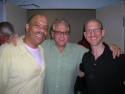 Don Mayo, director Stuart Ross and Doug Cohen