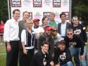 The Jersey Boys with Mayor Gavin Newsom, Brent Barrett, Andrea Marcovicci, Jenifer Lewis and Jai Rodriguez in attendance