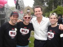 Steve Gouveia, Jeremy Kushnier, Mayor Gavin Newsom and Jarrod Spector