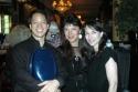 Bruce Wang, Dana Ianculovici and Roxanne Bergman (musicians)