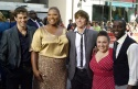 James Marsden, Queen Latifah, Zac Efron, Nikki Blonsky and Elijah Kelley