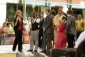 Meredith Vieira with Elijah Kelley, James Marsden, Queen Latifah, Nikki Blonsky and Zac Efron