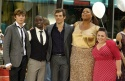Zac Efron, Elijah Kelley, James Marsden, Queen Latifah and Nikki Blonsky