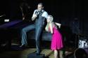 "Mike Cruz (NYU) sings ""Dancing Through Life"" from Wicked, with Natalie Hall (AMDA Photo"