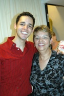Michael Arroyo and his mom