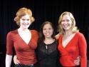 The ladies (l to r): Kate Baldwin, Kimberly Jajuan and Rebecca Luker Photo