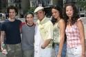 Thomas Kail (Director), Robin de Jesus, Eliseo Roman, Karen Olivo and Mandy Gonzalez Photo