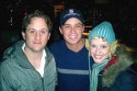 Christopher Fitzgerald, Geoofrey Soffer and Jessica Stone Photo