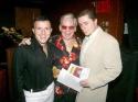 Peter Mac, Ricky Ritzel and Dr. John Schaeffer Photo