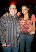 Frank DeCaro and Michelle Buteau