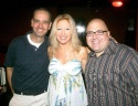 Producer of HomoComicus Robert Montgomery, with Kim Cea and Frank DeCaro